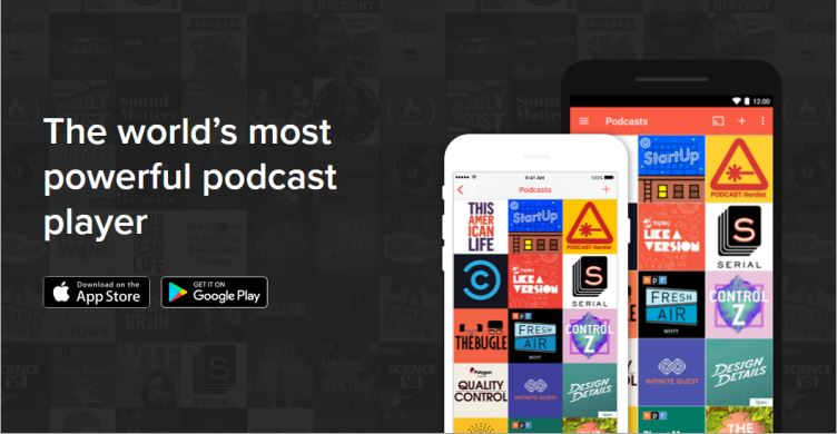 best podcast apps for ios and android