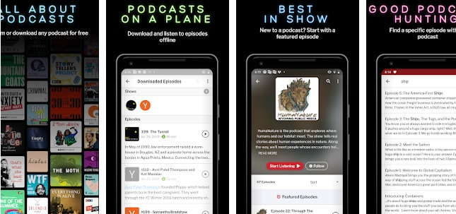 Best Podcast Listening Apps [For iOS & Android] 2019